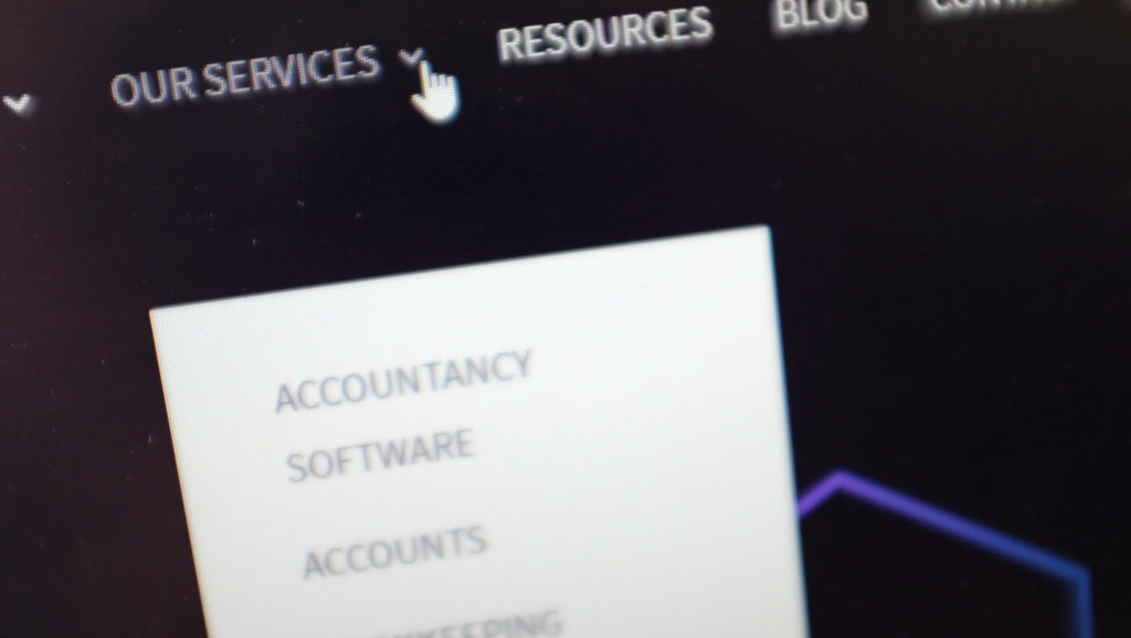 The importance of service pages for accountancy websites