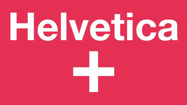 Sample of Helvetica.