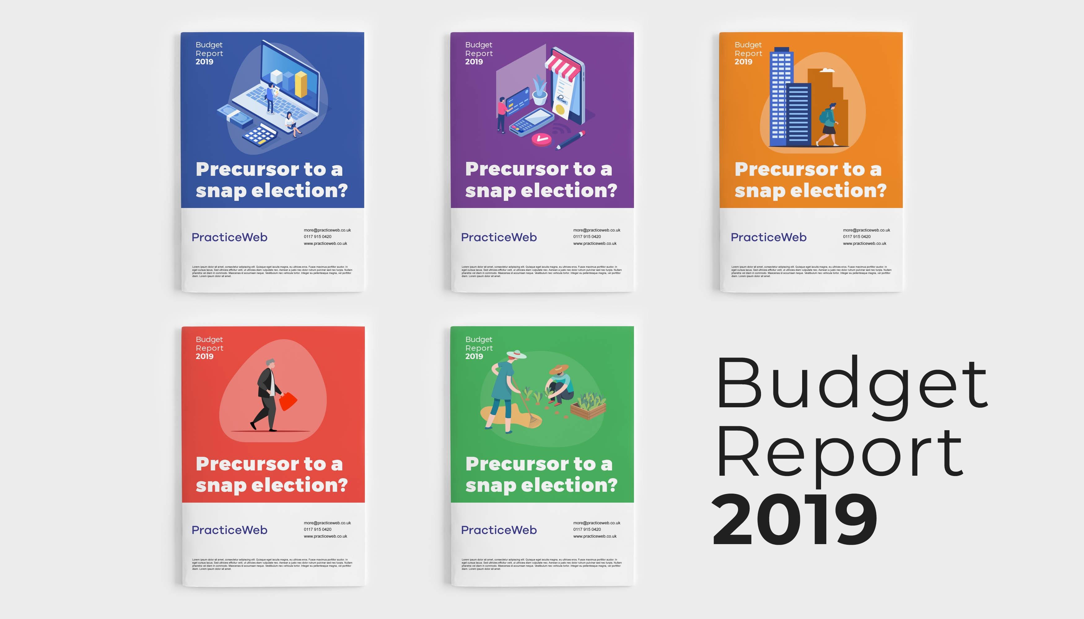 PracticeWeb Budget 2019 covers
