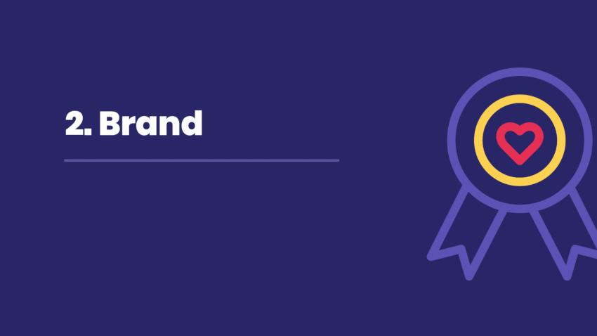 2. Conveying brand through content.