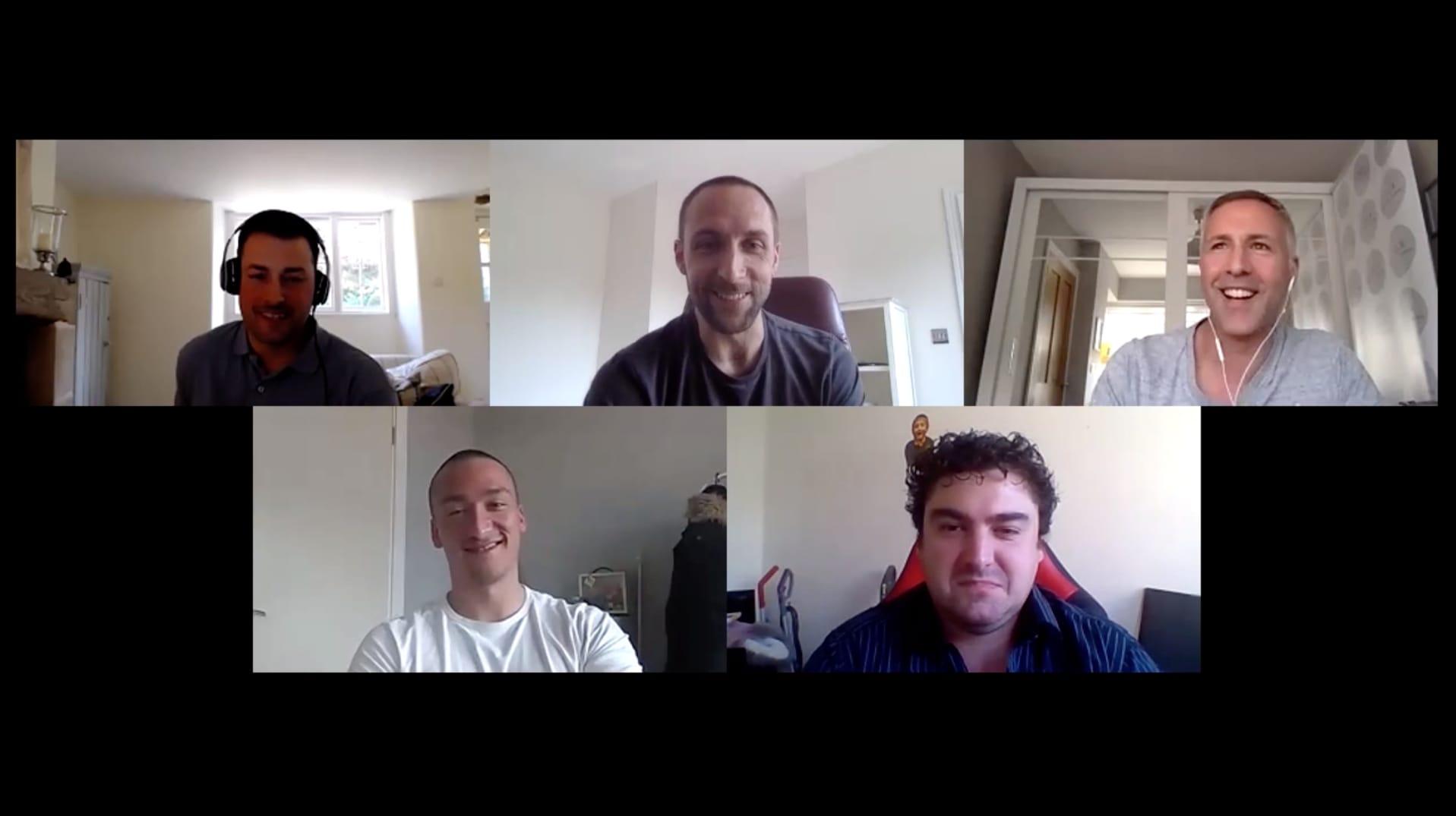 SME conversation over video call